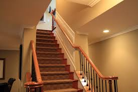 finish basement stairs home design ideas