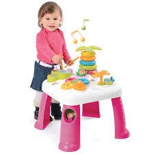 table eveil bebe avec siege table d activités cotoons la grande récré vente de jouets