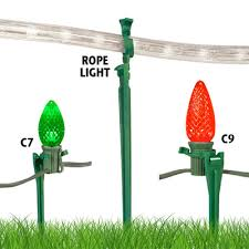 above ground light stake birddog lighting