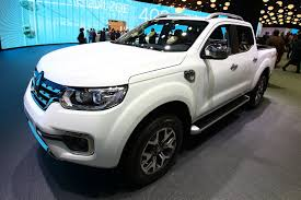 renault pickup truck new alaskan pickup brings ruggedness to renault u0027s paris stand