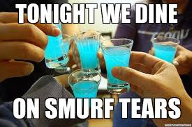 Baby Smurf Meme - smurf tears tonight we dine on smurf tears weknowmemes