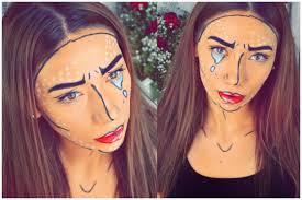Halloween Makeup Comic