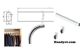 buy expandable closet rod zinc 96 inches 144 inches in cheap price