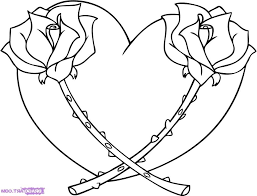 flowers drawings in pencil step by step coloring pages step flower