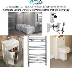 leeds clearance bathrooms chrome taps shower heads