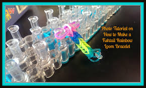 how to make a fishtail rainbow loom bracelet jpg