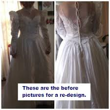 design your wedding dress wedding dress makeover redesigns