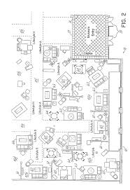 Floor Plan Furniture Patent Us20050021356 Retail Furniture Store Configuration And
