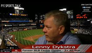 Former Phillie Lenny Dykstra Talks About Life And His New - lenny dykstra is out of prison and speaks to delmon young s