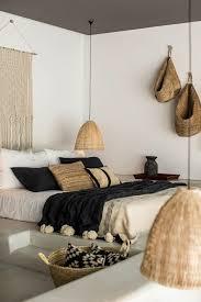 salon chambre a coucher déco salon chambre a coucher moderne murs blancs deco exotique