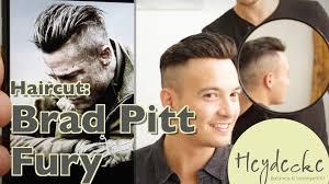 Frisuren Lange Haare Br Ett by Brad Pitt Fury Frisur Haarschnitt Undercut Haircut Mit