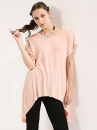 buy glamorous high low hem tunic top for women women u0027s brown