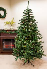 6 5 pre lit traditional mixed pine artificial tree