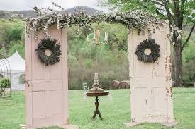 diy wedding arch diy vintage door wedding arch