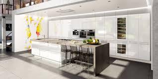 modeles cuisines contemporaines charmant modele cuisine avec ilot central table et cuisine