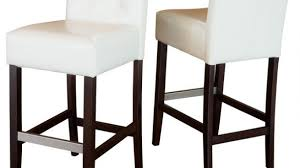 Leather Bar Stool With Back Ivory Leather Bar Stools Pertaining To Your Home Clubnoma Com