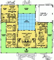 mediterranean home plans with courtyards 100 mediterranean home plans with courtyards 36 best