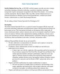 Logistics Management Specialist Resume Government Contract Specialist Resume Job Billybullock Us