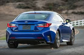 lexus f sport 2017 2016 lexus rc coupe adds turbo four 200t v 6 300 awd models