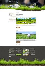 responsive golf template hotthemes