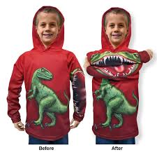 halloween hoodie their wardrobe becomes animated with raptor youth hoodie shirt