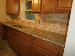 granite countertops with backsplash home design and decor ideas
