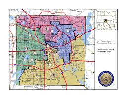 Dallas Map by Dallas County Case The Equal Voting Rights Institute