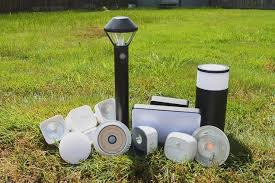 what is the best solar lighting for outside the best smart outdoor lighting for backyards pathways and