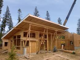 small mountain cabin plans luxury mountain home plans cabin hillside steep house small modern