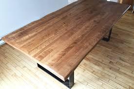 table cuisine sur mesure plateau de table en bois sur mesure dukec me