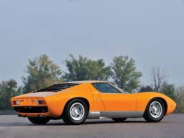 lamborghini miura race car the closest you ll get to buying a lamborghini miura