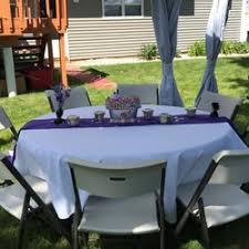 table rentals nj table top party rentals 19 photos party equipment rentals