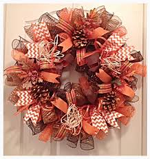 happy harvest and thanksgiving deco mesh wreath this wreath is