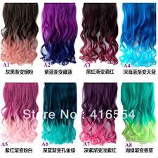different hair new color hair ponytail synthetic hair extension with 5
