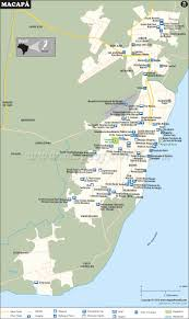 Tunis Metro Map by Macapa Map City Map Of Macapa Brazil