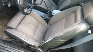 Fox Body Black Interior Ford Mustang Hatchback 1990 Black For Sale 1facp42e0lf103614 1990