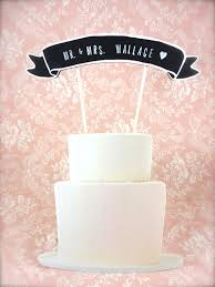 cake topper banner cake topper banner with calligraphy wedding cake topper