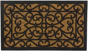 Coir And Rubber Doormat Swhf Rubber Coir Door Mat Swhf Rubber And Coir Mat Rectangle