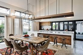 interior design for kitchen and dining unique design interior kitchen dining room 15 open concept kitchens
