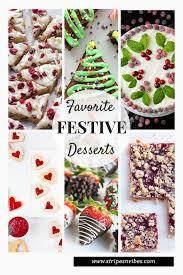 thursday inspiration festive desserts stripes and vibes