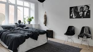 deco chambre lit noir impressionnant deco chambre noir et blanc idées de décoration