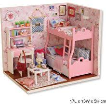 Sweet Coffee Shop France Style Diy Doll House 3d Miniature Doll Houses The Best Prices Online In Philippines Iprice