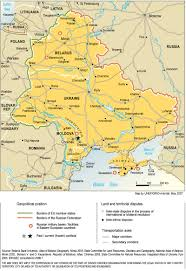 Map Of Eastern Europe And Russia by Envsec Publications
