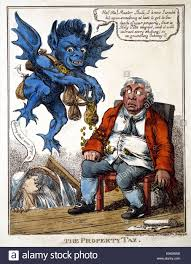 the property tax by c williams a blue demon uses a magnet to