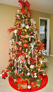 decorating and designing the christmas tree