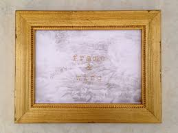 shabby chic vintage gold picture frame 4x4 4x6 5x7 8x8