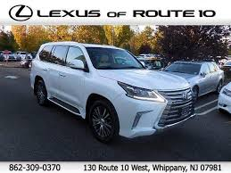lexus route 10 jersey 2016 lexus lx in jersey for sale 10 used cars from 79 169