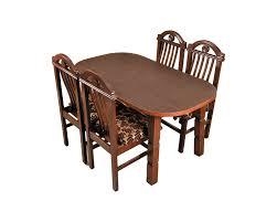 Teak Wood Dining Tables Teakwood Dining Table 4 Seater Subha Furniture S Store