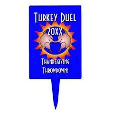happy thanksgiving turkey letter flyer 2017