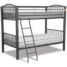 Bunk Beds Black Bunk Bed Black 0706b Industrial Metal Afw